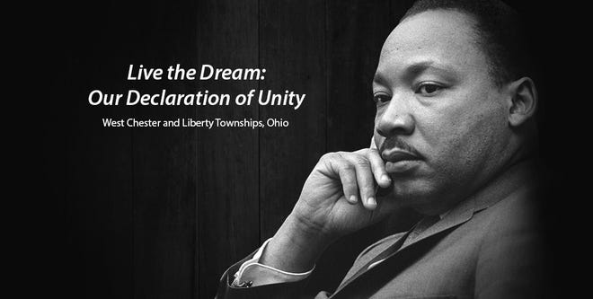West Chester and Liberty Townships are teaming up for their joint Martin Luther King Jr. observance.