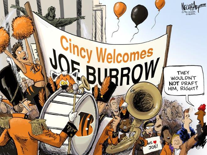 Cincy Welcomes Joe Burrow