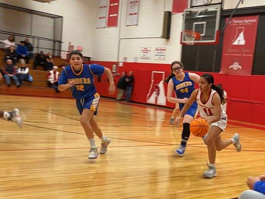 North Brunswick at St. Thomas Aquinas girls basketball on Thursday, Jan. 16, 2020.