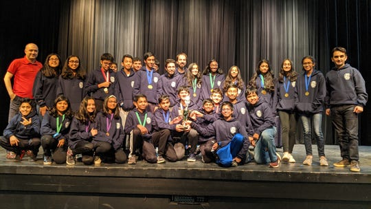 Congratulations to both Thomas Edison EnergySmart Charter School's Middle School Science Olympiad Team for winning First Place and to Montgomery High School's Science Olympiad Team for winning First Place among the high school teams. Students received their medals and trophies on the same day from the President of Camden County College.