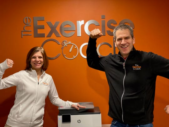 Richard Edelstein and Elaine Vakalopoulos, Exercise Coach Midland Park owners.