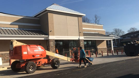 The Wawa on Route 9 in Sayreville is nearing completion.