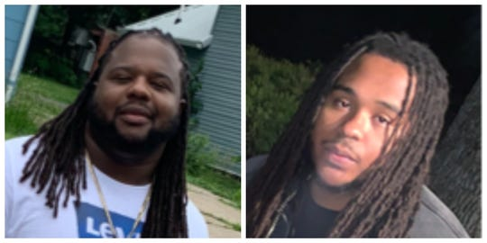 Damiko Carr, 28, (left) and Karyree Henderson, 21, shown in undated provided photos. The men were shot to death Jan. 15, 2020 in the 2700 block of 51st Street in Des Moines.