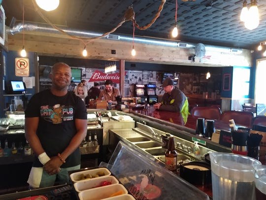 Monte Jamison, a bartender at the Angry Goldfish Pub & Eatery, says always being open, even in the worst weather, is what makes the establishment the go-to on Des Moines' south side.
