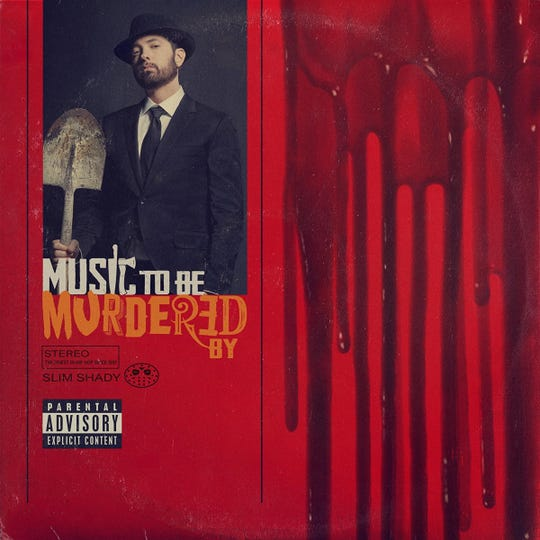 """Cover of Eminem's """"Music to Be Murdered By"""""""