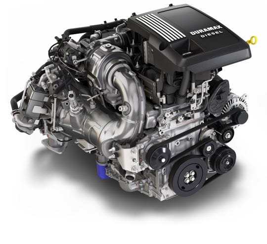 The Chevrolet Silverado's all-new 3.0L Duramax inline-six turbo-diesel engine is essentially identical to the GMC Sierra 1500's diesel.