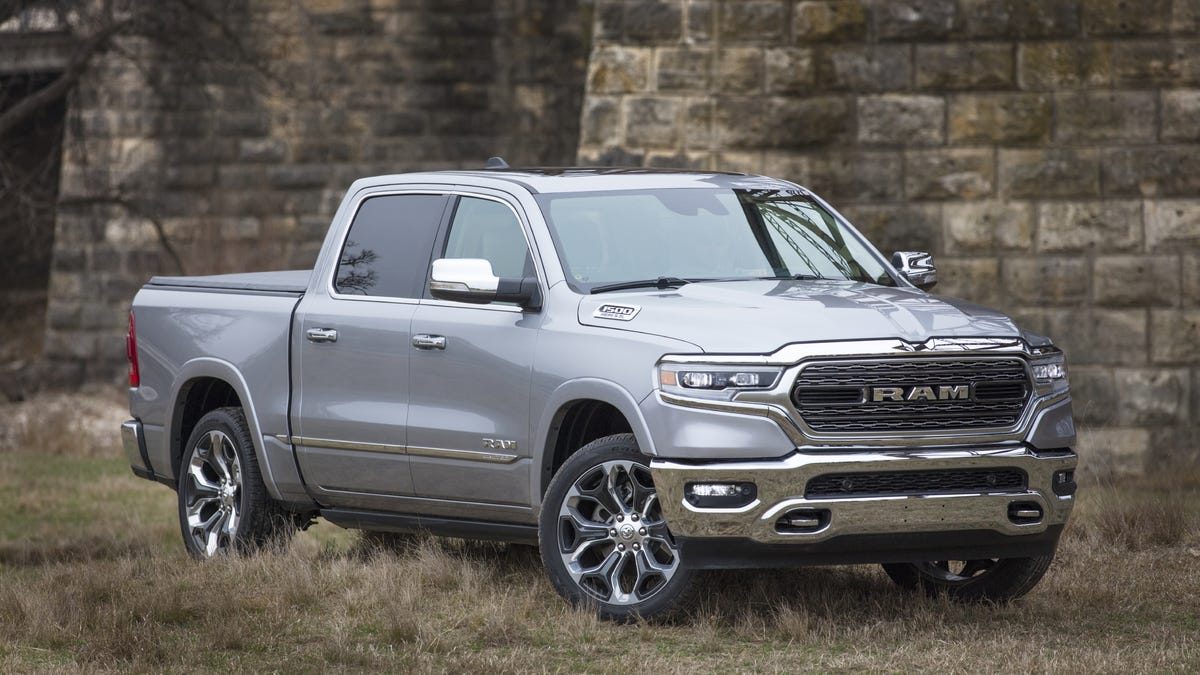 2020 Dodge Ram Truck Spy Shoot