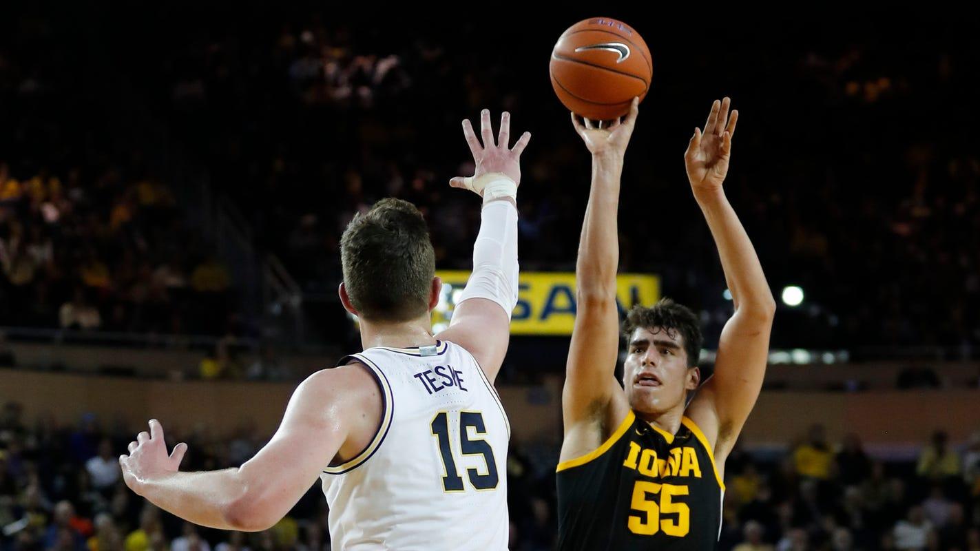How Michigan basketball is preparing for rematch with Iowa's Luka Garza