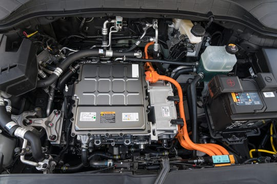 Hyundai Kona electric power plant