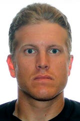 FILE - This undated photo provided by the Royal Canadian Mounted Police shows Patrik Mathews. FBI agents on Thursday, Jan. 16, 2020, arrested the former Canadian Armed Forces reservist and two other men who are linked to a violent white supremacist group and were believed to be heading to a pro-gun rally next week in Virginia's capital.