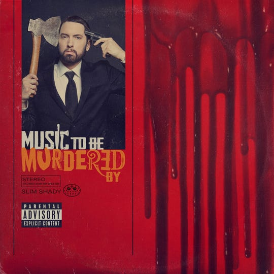 """Eminem surprise-released his new album, """"Music to Be Murdered By,"""" at midnight on Friday."""