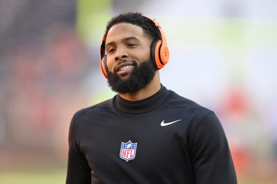 A misdemeanor simple battery warrant has been issued for Cleveland Browns wide receiver and former LSU star Odell Beckham Jr., police in New Orleans said.