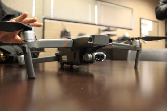 The Sandusky County Sheriff's Office Mavic 2 Enterprise drone was used Jan. 9 to locate a man barricaded in a Grove Street home in Bellevue.