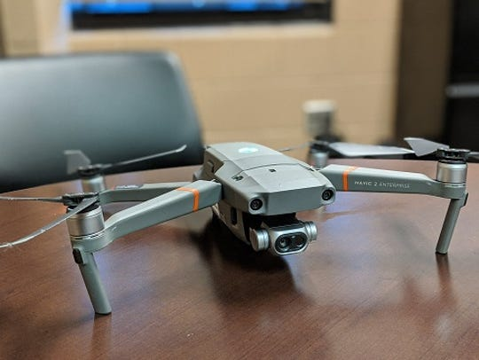 Mavic 2 Enterprise drone was activated three weeks ago by the Sandusky County Sheriff's Office.