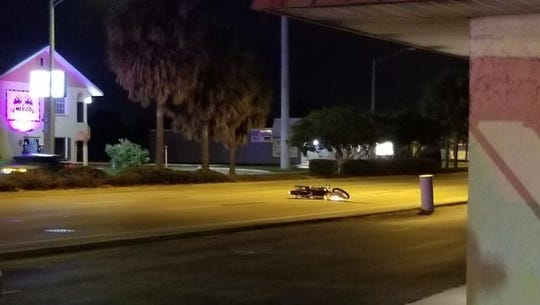 David K. Chandler, 60, of Cape Coral, was seriously injured after avoiding a crash on Del Prado Boulevard in Cape Coral on Thursday 1/17/2020.