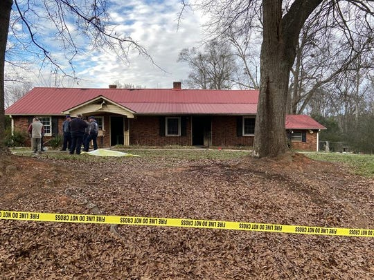 Two people died in a house fire Friday in Anderson County, on Standridge Road. The deaths came in what initially appears to be a vacant home that was being used by people to stay out of the cold.