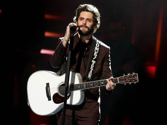 Thomas Rhett will perform June 5 at Ruoff Music Center.