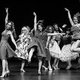 Students in the Montage Theatre of Dance perform on stage at Hinds Community College in Raymond, Mississippi.