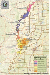 Hunting zones along the Mississippi River have begun closing to all hunting except for waterfowl.