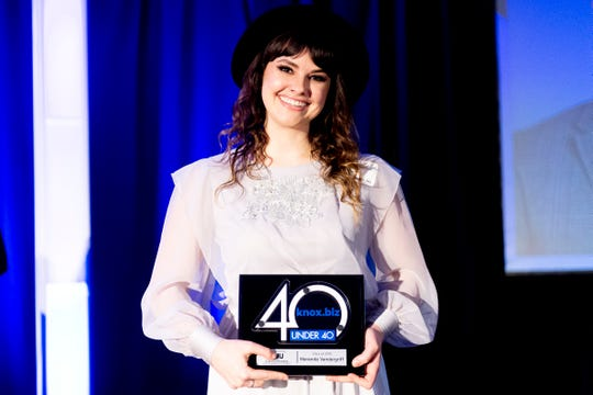 Maranda Vandergriff is creative director of the Knoxville Entrepreneur Center and support staff for The Maker City.