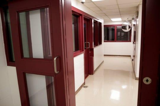 Inside the Tippecanoe County Jail, Friday, Jan. 17, 2020 in Lafayette.