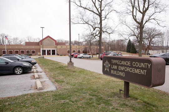 Tippecanoe County Sheriff's Office and Jail, Friday, Jan. 17, 2020 in Lafayette.