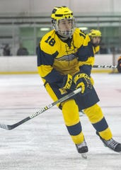 Hartland's Adam Pietila had three goals and one assist in a 4-2 victory over Northville.