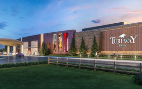 Churchill Downs bought Turfway Park in Northern Kentucky and intends to build a new clubhouse, historical racing machine facility and a second track for horse racing.