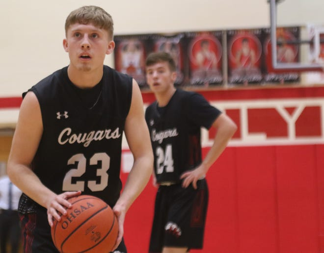 Crestview's Evan Hamilton will be looked at as a team leader for the Cougars in 2020-21.