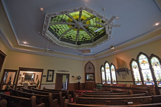 The Old Franklin Church Wedding and Event Space is available for a variety social occasions.