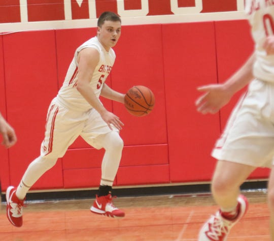 Plymouth's Josh Beebe has the Big Red at No. 7 in the Richland County Boys Basketball Power Poll.