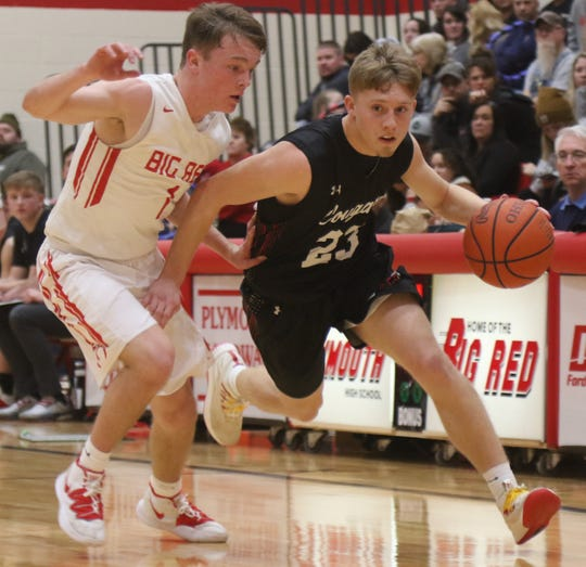 Crestview's Evan Hamilton has the Cougars at No. 10 in the Richland County Boys Basketball Power Poll.