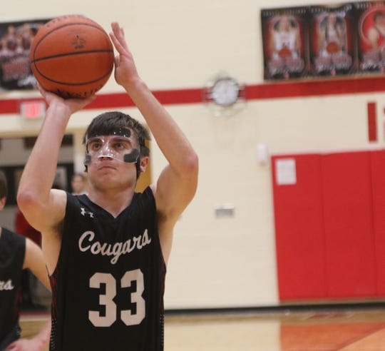 Crestview's Kameron Goon has the Cougars at No. 9 in the Richland County Boys Basketball Power Poll.
