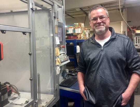 Jim Cornely, assembly associate, has been with Bohannanfor 30 years and oversees the company's key department.