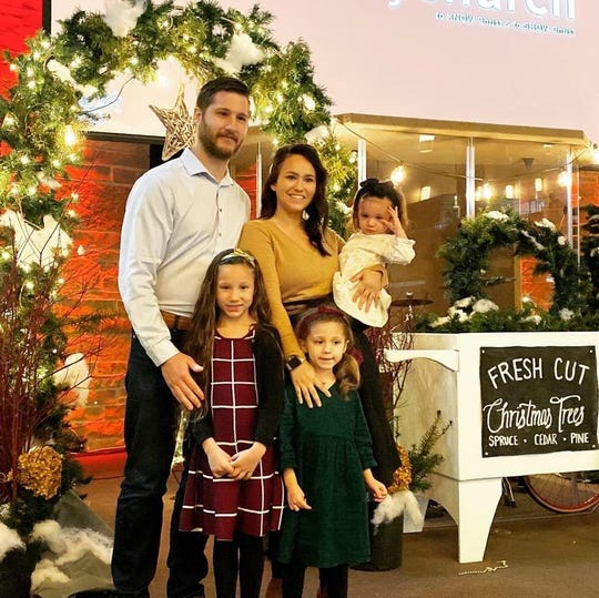 Ed and  Breeanna Jeske and their three children are thanking the community for supporting them during a Dec. 22 fire.  The town of Lisbon family lost their home and all of their belongings in a fire days before Christmas.