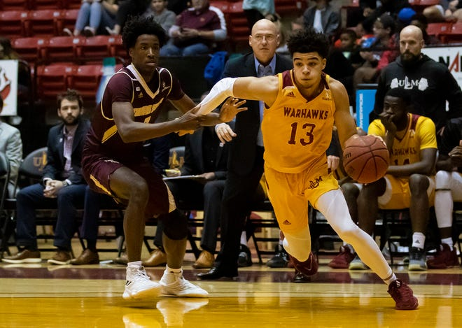 ULM lost to Texas State 64-63 at Fant-Ewing Coliseum in Monroe, La. on Jan. 16.
