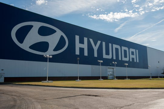 The Hyundai Motor Manufacturing plant in Montgomery, Ala., on Friday, Jan. 17, 2020.