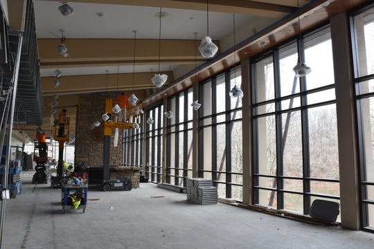 Montgomery Bell State Park renovations are underway with new-look restaurant, bar, and hotel rooms part of the project.