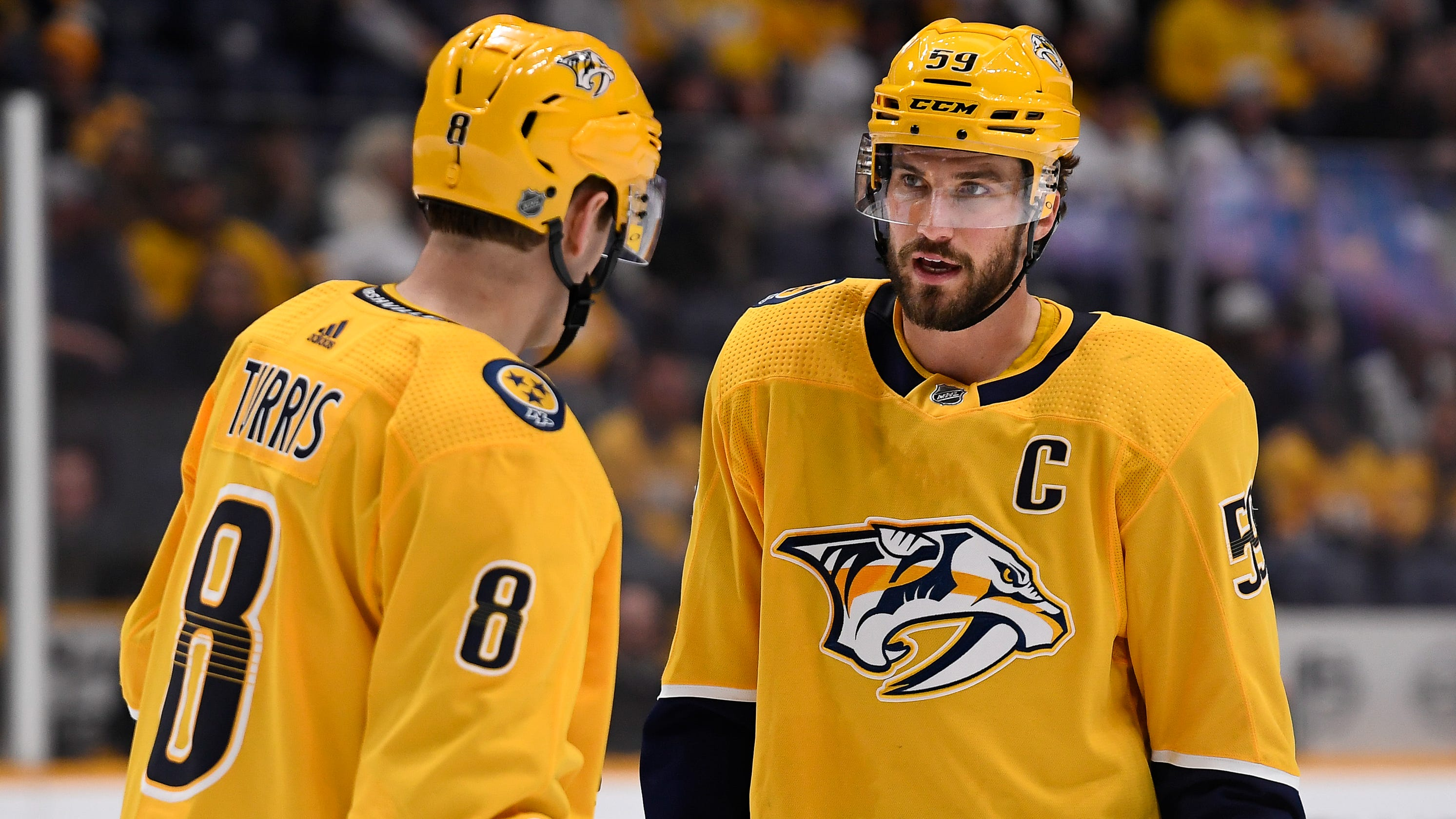 Predators captain Roman Josi continues to carry load as Ryan Ellis inches closer to return