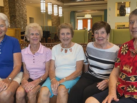 It's all relative. That explains why there are a lot of familiar faces at Bentley Village.