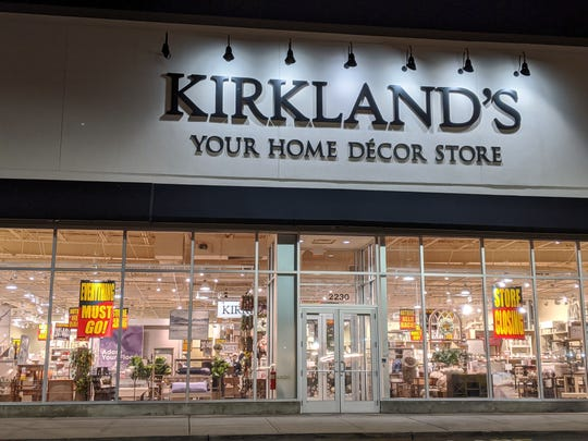 Kirkland's, a home decor and furniture store at Bergen Town Center, is closing.