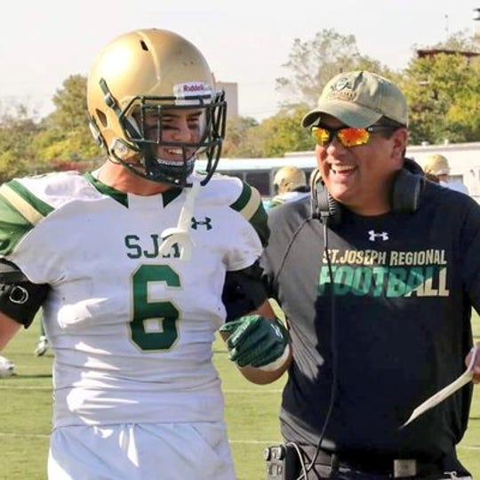 St. Joseph Regional has promoted defensive coordinator Danny Marangi to head football coach, taking over for Augie Hoffmann.