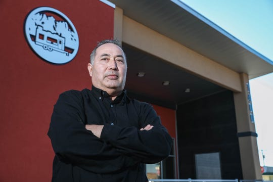 Gonzalo Chavez, pictured Friday, Jan. 17, 2020, owns and operates Taqueria Chavez, which moved from a food truck into a new building in September 2019. The business this year was named a Star Business by the New Mexico Small Business Development Center Network.