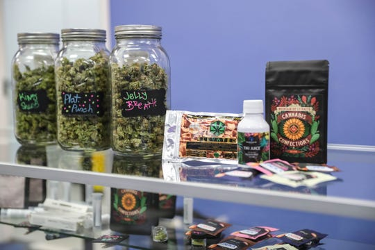Medical marijuana is pictured at Ultra Health Dispensary in Las Cruces on Friday, Jan. 17, 2020.