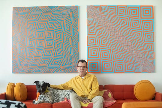 Jim Isermann has an exhibit at the Palm Springs Art Museum, scheduled to open on January 25.