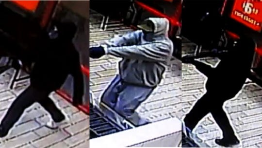 Three armed men robbed a business in Palm Springs on Jan. 12, 2019.