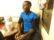 Dion Humphrey, 19, was mistaken for a robbery suspect who turned out to be his half brother, Humphrey's family says.