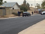 A man was found fatally shot in a car Jan. 16, 2020, near 32nd Street and Shea Boulevard in north Phoenix.