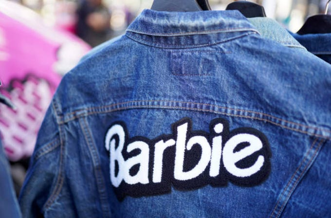 A limited number of upcycled vintage denim jackets will be for sale at the Scottsdale stop of the Barbie Truck Totally Throwback Tour on Jan. 25.