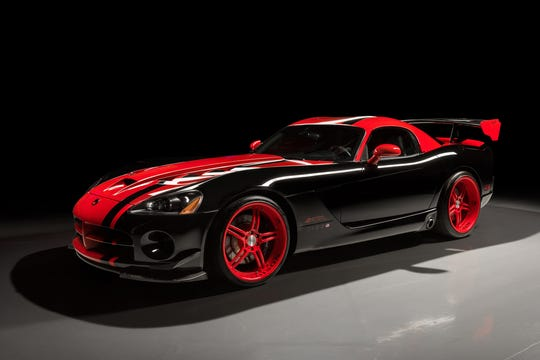 The 1:33 Edition Vipers were made to honor the Viper that holds the lap record at Laguna Seca with a time of 1:33.91.